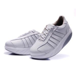 MBT Leather Art Walking Athletic Workout Sneakers